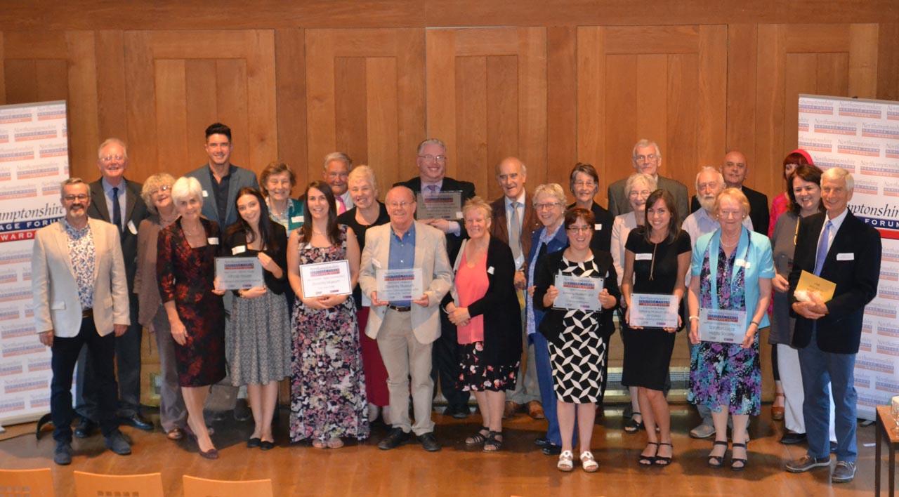 Northamptonshire Heritage Forum Awards