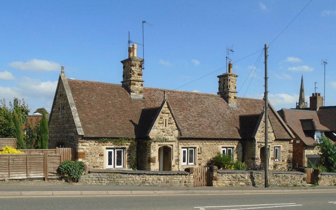 Alms-houses in Rushden